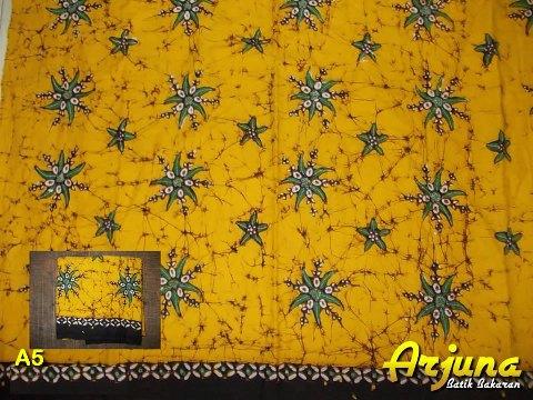 batik tulis arjuna kain A5