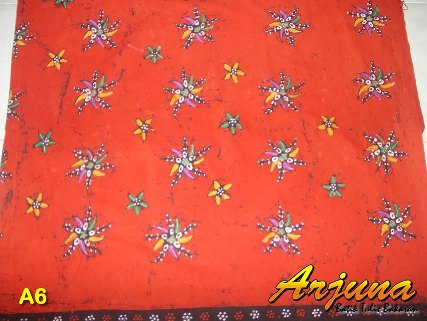 batik tulis arjuna kain A6