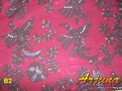 batik tulis arjuna kain B2