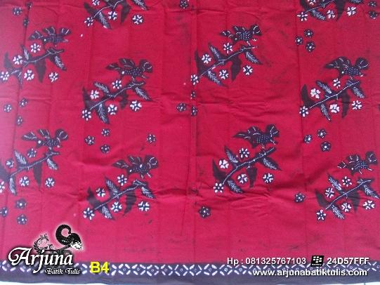 batik tulis arjuna kain B4