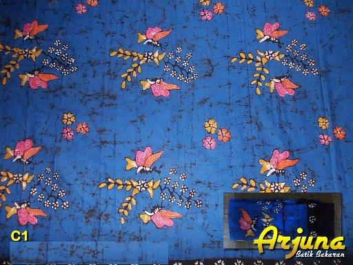batik tulis arjuna kain C1