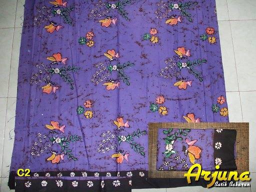 batik tulis arjuna kain C2