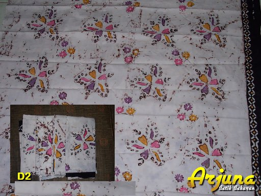 batik tulis arjuna kain D2