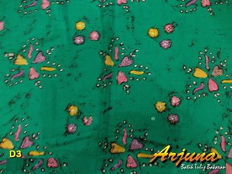 batik tulis arjuna kain D3