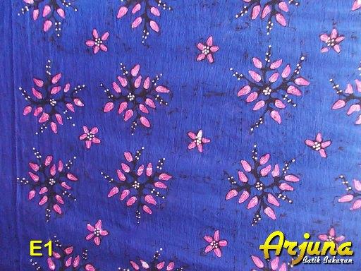 batik tulis arjuna kain E1