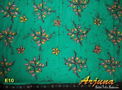 batik tulis arjuna kain E10