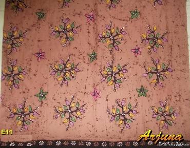 batik tulis arjuna kain E11