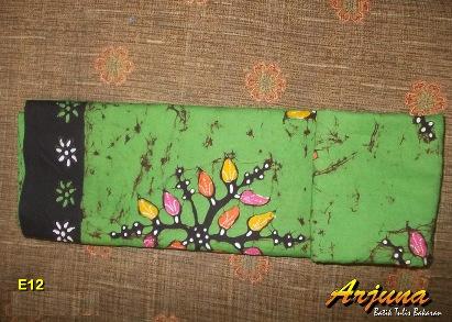 batik tulis arjuna kain E12