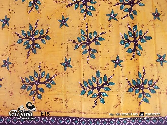 batik tulis arjuna kain E15