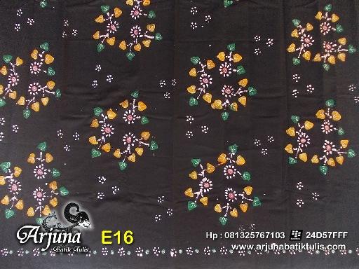 batik tulis arjuna kain E16
