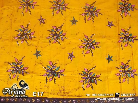 batik tulis arjuna kain E17