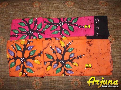 batik tulis arjuna kain E4 E5