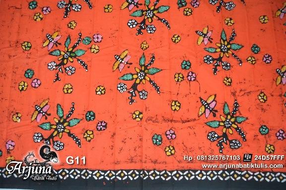 batik tulis arjuna kain G11