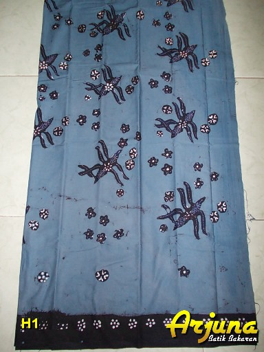 batik tulis arjuna kain H1