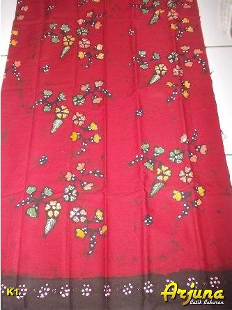batik tulis arjuna kain K1