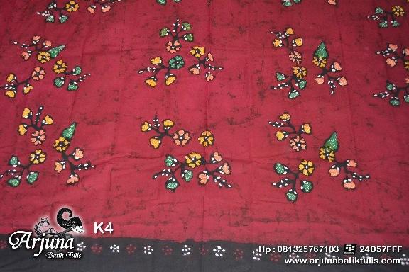 batik tulis arjuna kain K4