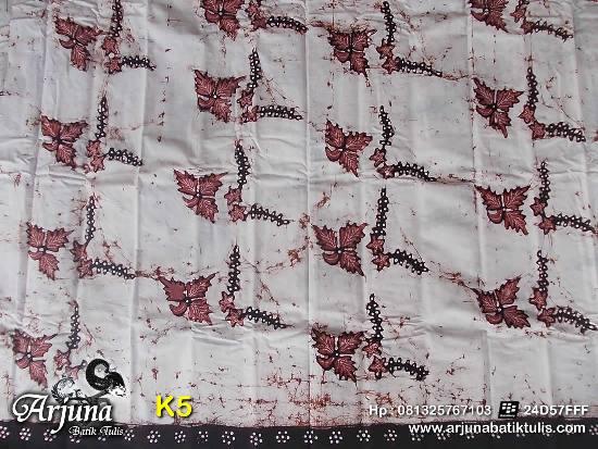 batik tulis arjuna kain K5