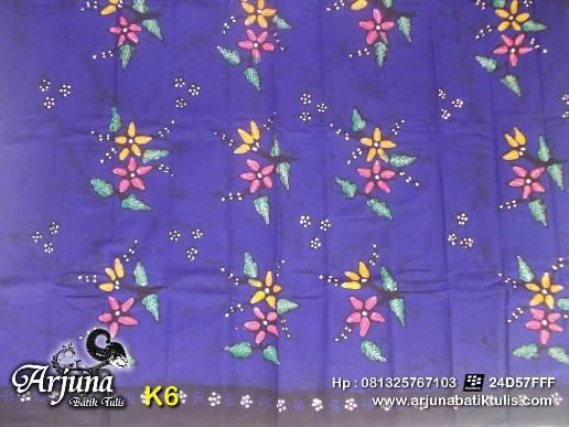 batik tulis arjuna kain K6