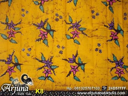 batik tulis arjuna kain K8