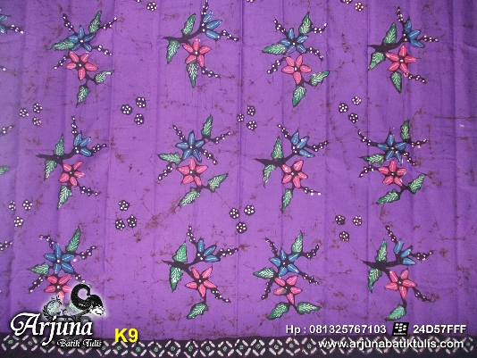 batik tulis arjuna kain  K9