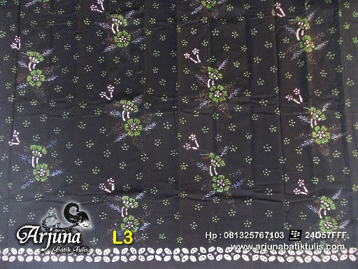 batik tulis arjuna kain L3