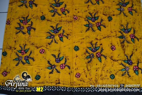 batik tulis arjuna kain M2