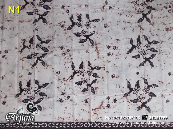 batik tulis arjuna kain N1