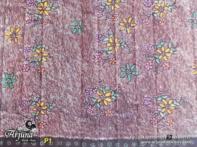 batik tulis arjuna kain P1