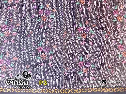 batik tulis arjuna kain P3