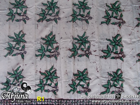 batik tulis arjuna kain R1