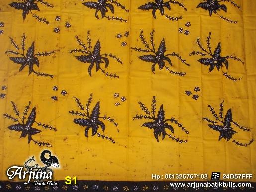 batik tulis arjuna kain S1