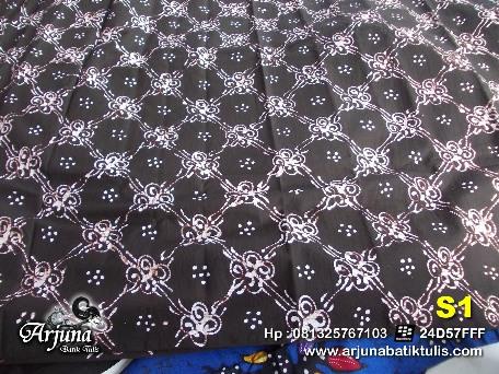 batik tulis arjuna kain T1